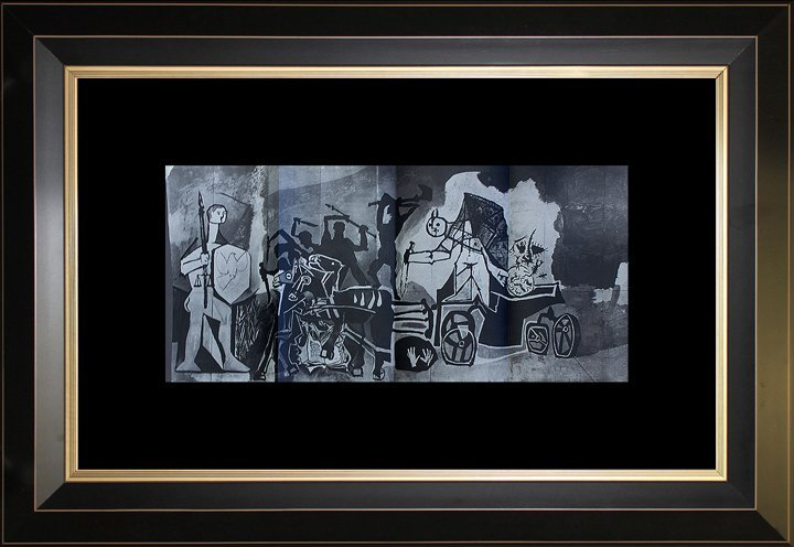 Pablo Picasso Original Etching Heliogravure Printed in