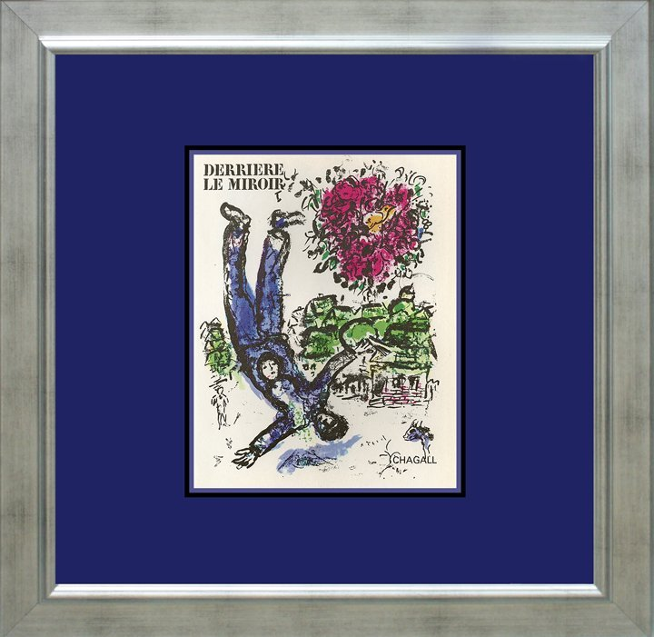 Marc Chagall Lithograph from 1971