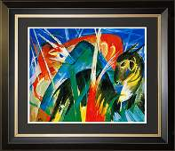 Franz Marc Limited Edition Animaux Fabuleaux