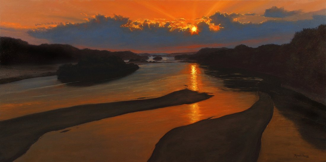 """""""Into the West"""" by Brian Slawson OPA"""