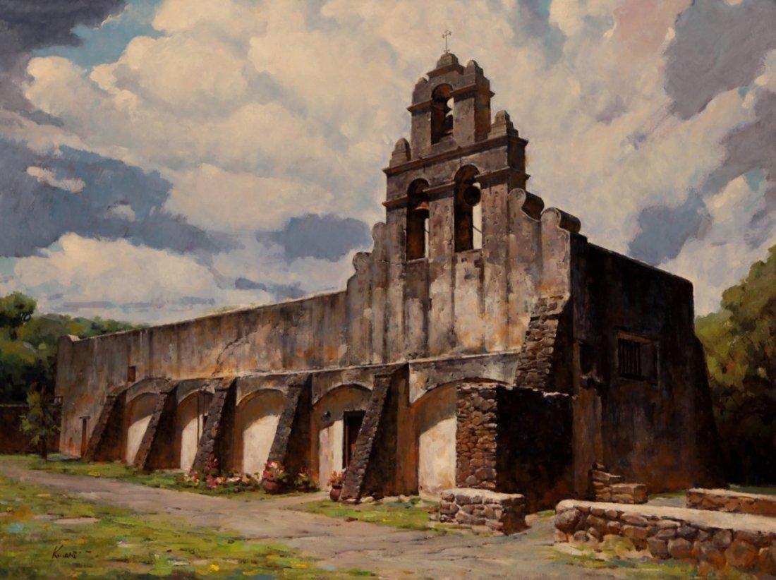 """Mission San Juan"" by Clement Kwan OPA"