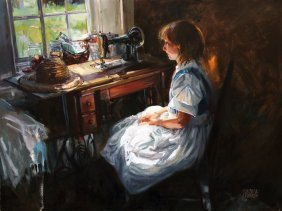 """""""Good Light"""" by Barbara Summers Edwards OPA"""