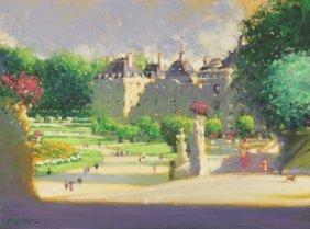 """""""Luxemburg Gardens in Paris"""" by Craig Srebnik OPA"""