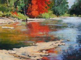 """""""Red Reflections"""" by Tim Deibler OPA"""