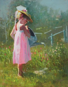 """Mama's Waterbucket II"" by Bonnie Conrad OPA"