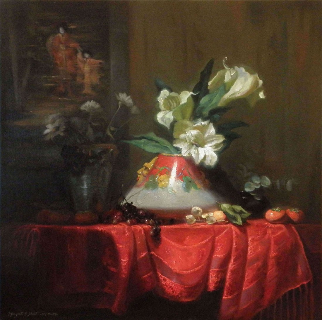 """Deruta Delivery"" by Margret Short OPA"