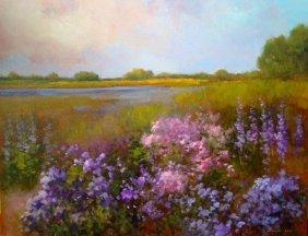"""Newburyport in the Summer"" by Monique Sakellarios OPA"