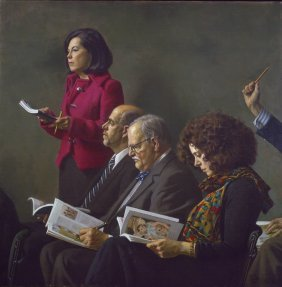 """""""At the Auction"""" by Daniel E. Greene OPAM"""