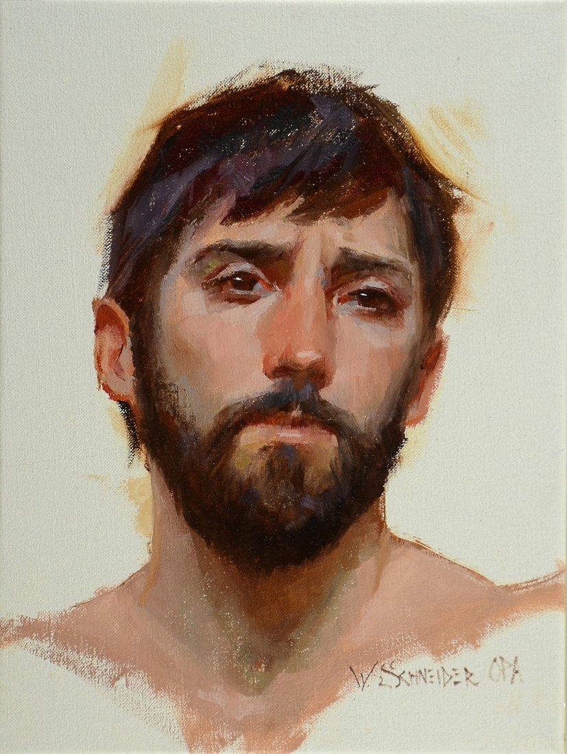 """""""A Man of Sorrow"""" by William Schneider OPA"""