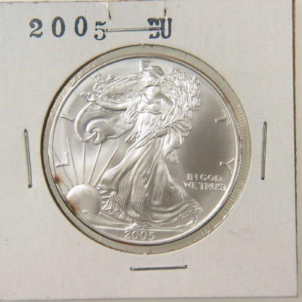 1008: 2005 American Silver Eagle BU