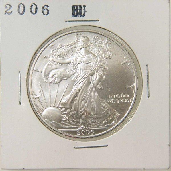 1009: 2006 American Silver Eagle BU