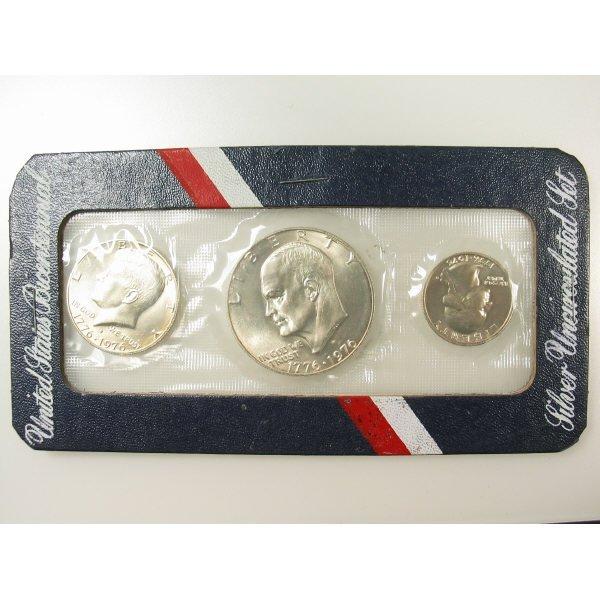 1012: 1976 Bicentennial Silver Mint Set