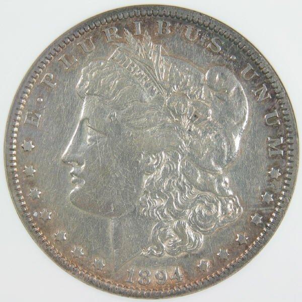 1082: 1894 Morgan Dollar ANACS EF-40