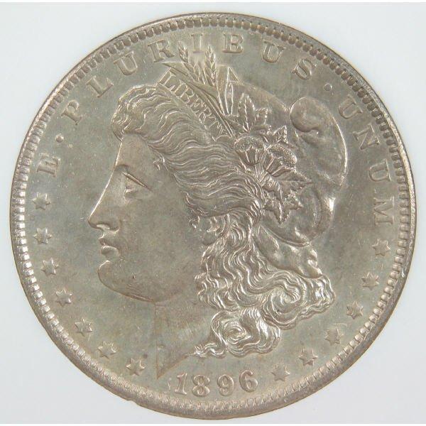 1135: 1896-O Morgan Dollar PCI MS 64