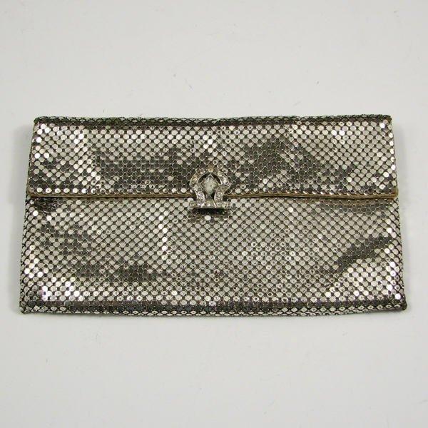 1: Vintage Whiting & Davis Mesh Bag w/ Rhinestones