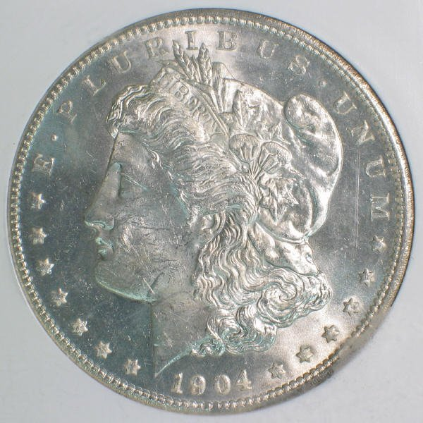 152: 1904-O Morgan Silver Dollar PCI MS-65 DMPL