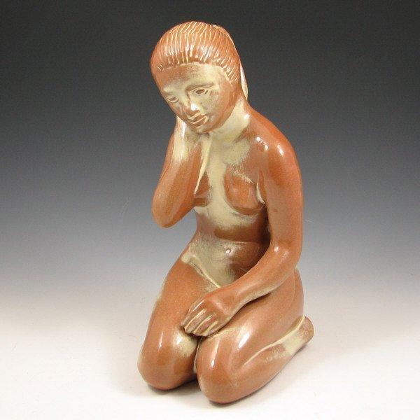 519: Frankoma Pottery Nude Figure - Mint