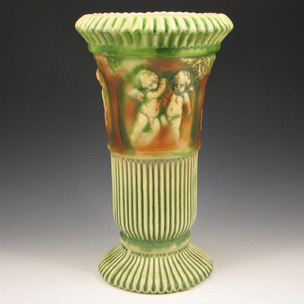 """680: Roseville Donatello 113-12"""" Vase"""
