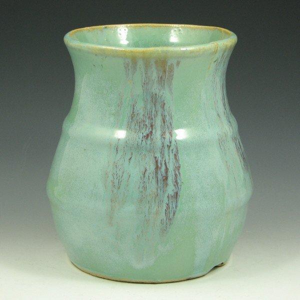 2: Hull Early Stoneware #40 Vase - Mint