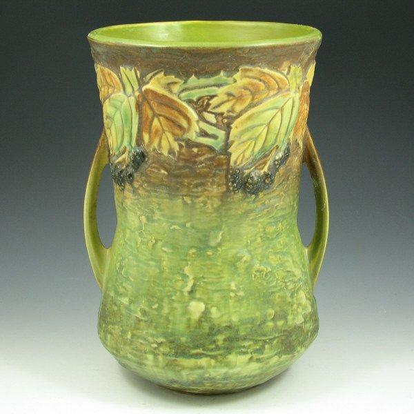 """6: Roseville Blackberry 577-10"""" Vase"""