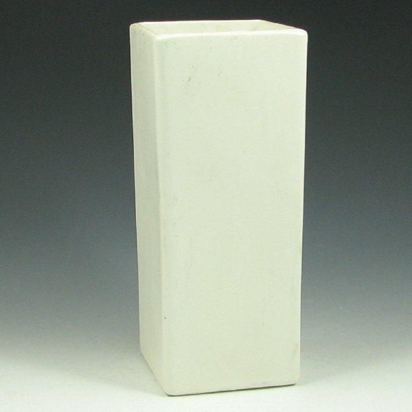 268: McCoy Floraline #448 Square Vase - Mint