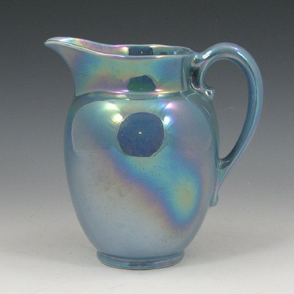2019: Cowan Larkspur Blue Luster Pitcher - Excellent