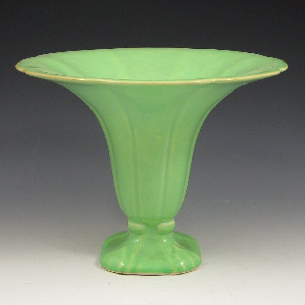 2022: Cowan Morning Glory Vase in April Green