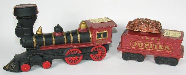 11: McCoy Four Piece Decanter Train Set - Mint