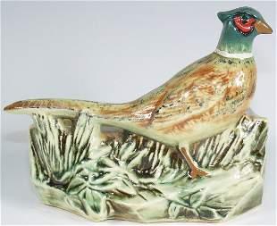 McCoy Pottery Pheasant Planter - Mint