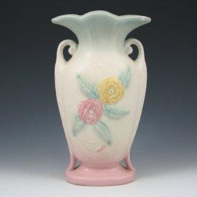 """Hull Open Rose 103-8 1/2"""" Vase - Mint"""