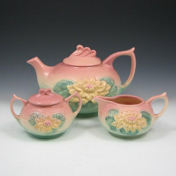240: Hull Water Lily Tea Set