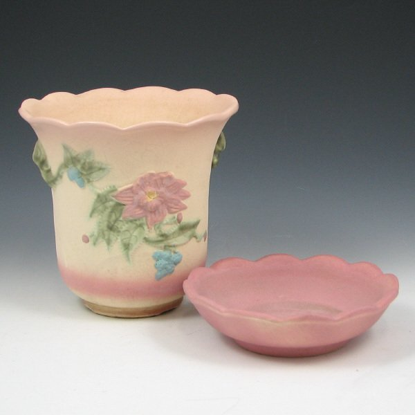 249: Hull Woodland Pre-50 Matte Flower Pot - Trial