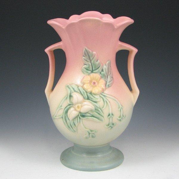 "253: Hull Wildflower W-13-9 1/2"" Vase - Mint"