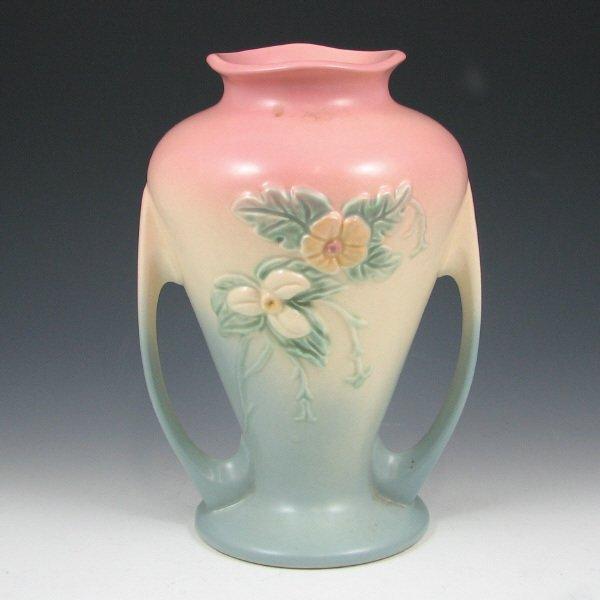 "254: Hull Wildflower W-12-9 1/2"" Vase - Mint"