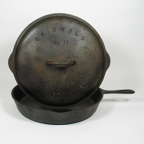 4010: Griswold No. 11 Skillet w/Cover