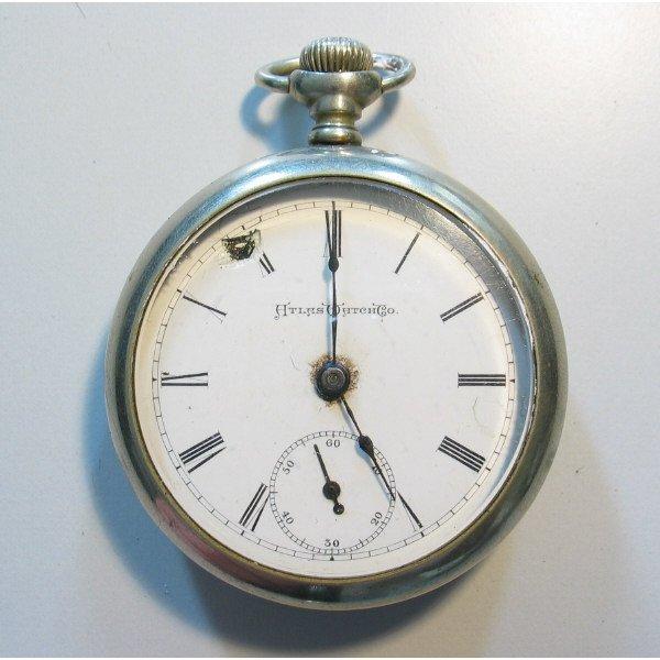 4219: Atlas Watch Co. Pocket Watch in Fahys Case