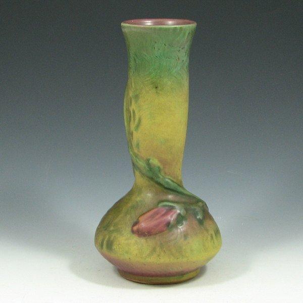 """5011: Weller Malverne 8 1/4"""" Bud Vase - Mint"""