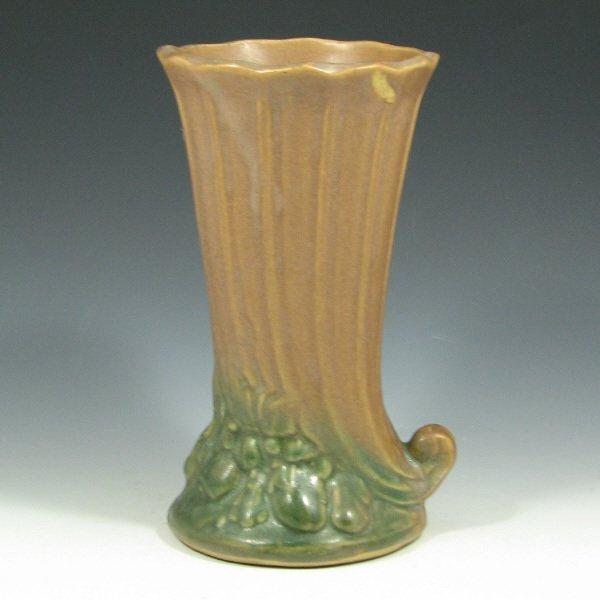 """5019: McCoy #15 Mat Glaze 8 1/4"""" Vase - Mint"""