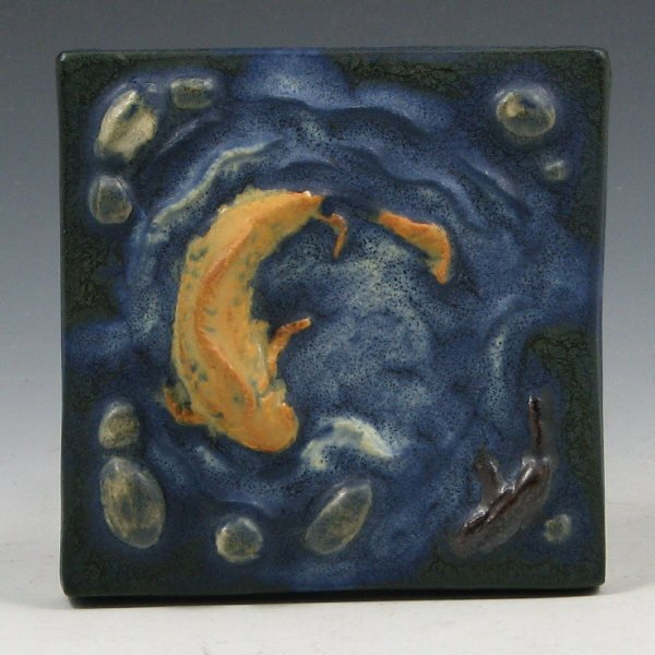 6: Ephraim #290 River Falls Discontinued Tile - Mint