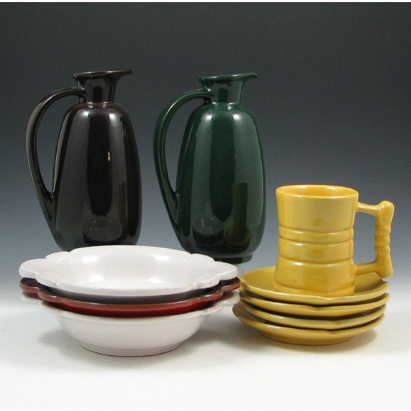 13E: Frankoma Kitchen Ware Pieces (10)