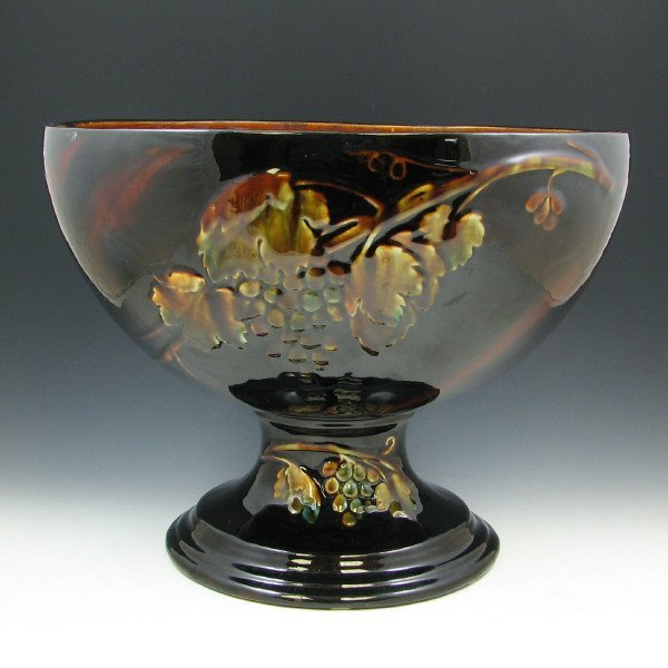"512A: Brush McCoy Olympia 14 1/2"" Punch Bowl"