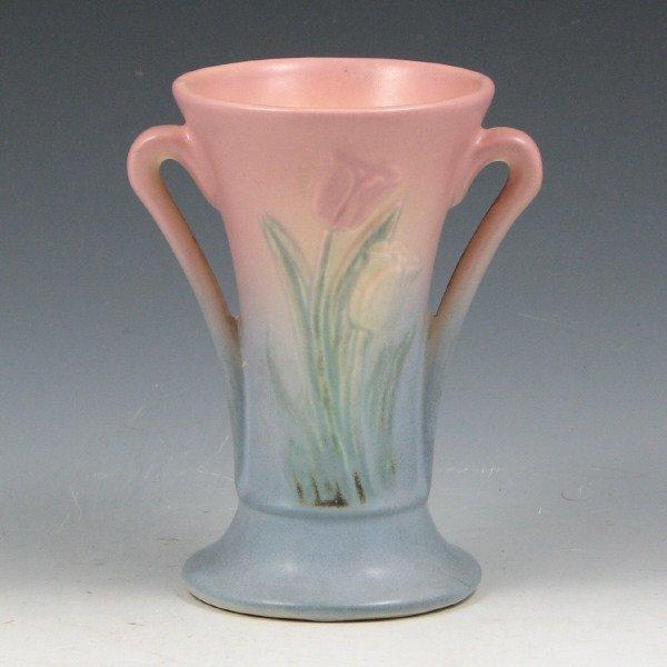 """8: Hull Tulip 100-33-4"""" Vase - Mint"""