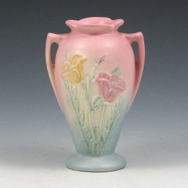 """9: Hull Poppy 607-4 3/4"""" Vase - Mint"""