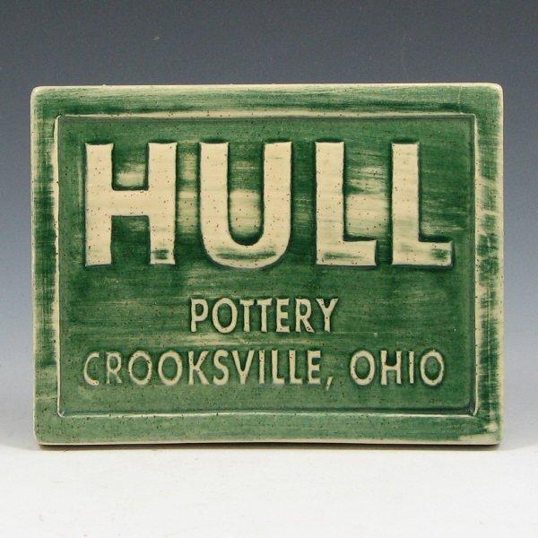 15: Hull Pottery Ohio Ceramic Center Crooksville Sign