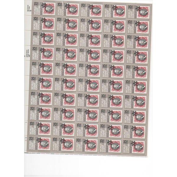 1: Sheet Album - Over 25 sheets of Stamps (SCV $770+)