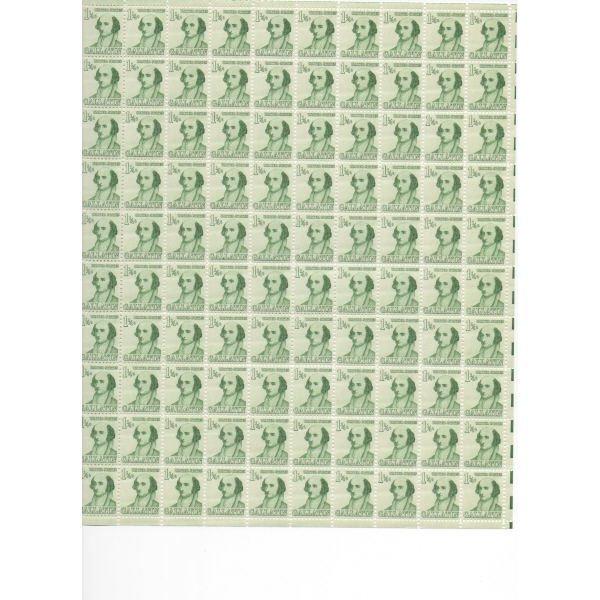 10: Sheet Album - Over 30 Sheets of stamps (SCV $1200)