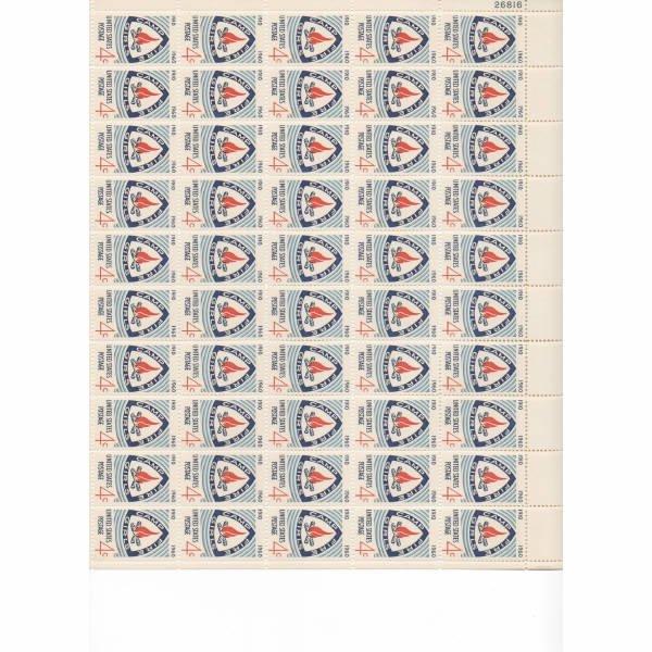 13: Sheet Album - Over 20 Sheets of stamps (SCV $264+)