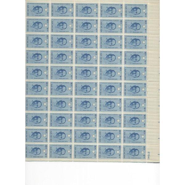 14: Sheet Album - Over 20 Sheets of stamps (SCV $210+)