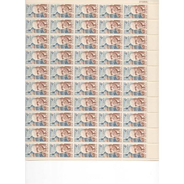 15: Sheet Album - Over 20 Sheets of stamps (SCV $230+)