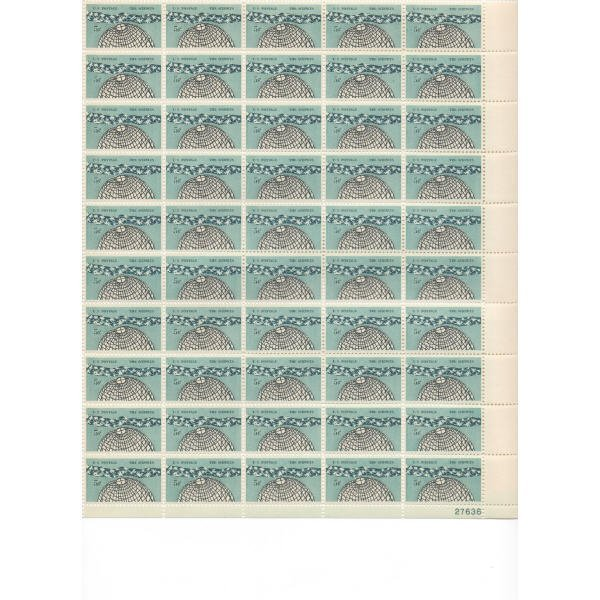 18: Sheet Album - Over 20 Sheets of stamps (SCV $280+)